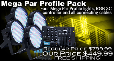 Mega Par Profile Pack