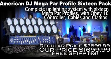 Mega Par Profile Sixteen Pack