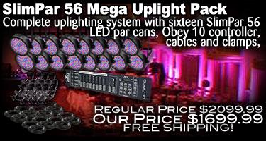 SlimPar 56 Mega Uplight Pack