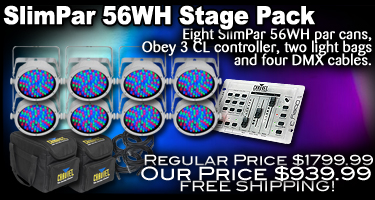 SlimPar 56WH Stage Pack