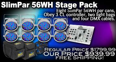 SlimPar 56WH Stage Pack