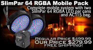 SlimPar 64 RGB A Mobile Pack