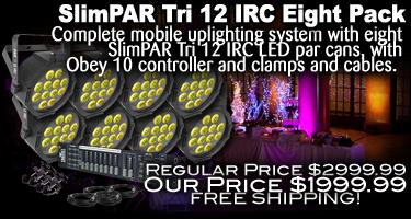 SlimPAR Tri 12 Eight Pack