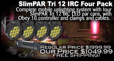 SlimPAR Tri 12 Four Pack