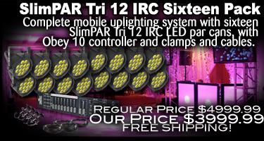 Chauvet SlimPAR Tri 12 Sixteen Pack