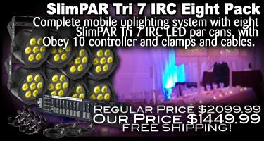 SlimPAR Tri 7 IRC Eight Pack