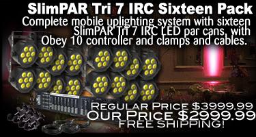 SlimPAR Tri 7 IRC Sixteen Pack