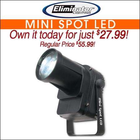 Eliminator Lighting Mini Spot LED