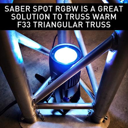 Saber Spot RGBW