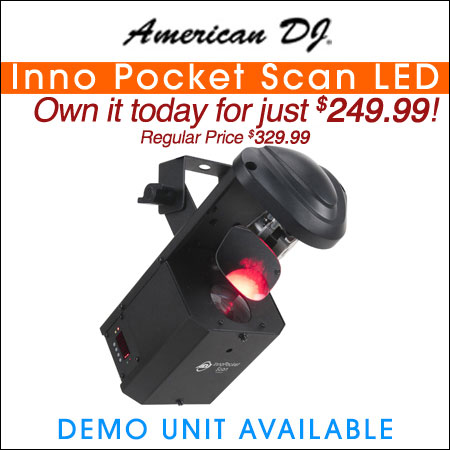 American DJ Inno Pocket Scan LED