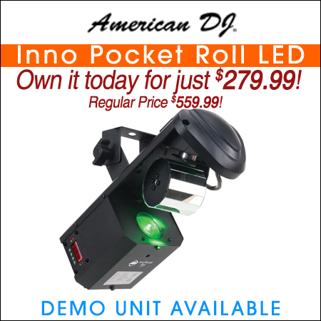American DJ Inno Pocket Roll LED