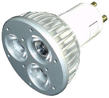 Eco-LED GU10 3x1