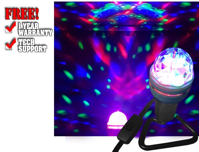 Li'l Nebula LED Party Light Bulb with Base