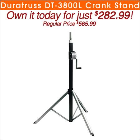 Duratruss DT-3800L Crank Stand