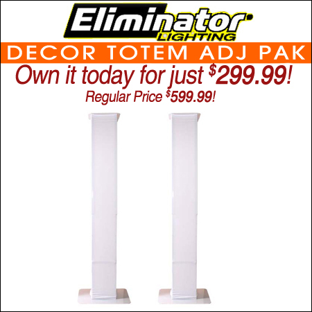 Eliminator Decor Totem ADJ PAK