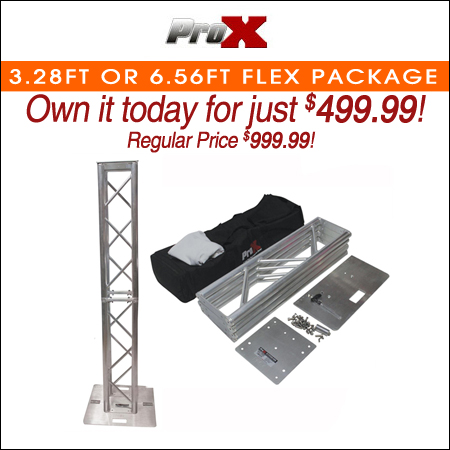 ProX 3.28FT or 6.56FT Flex Tower Platform Truss Totem Package