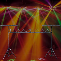 Light Stands And Trussing For Stage And Dj Use Chicago
