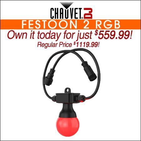 Chauvet Festoon 2 RGB