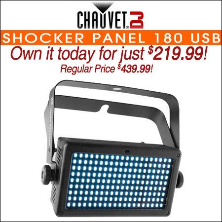 Chauvet Shocker Panel 180 USB
