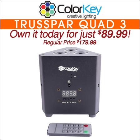 ColorKey TrussPar QUAD 3 Black