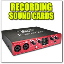 Recording Sound Cards
