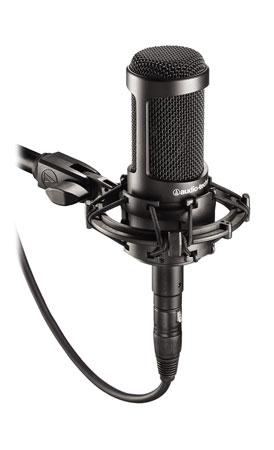 Audio Technica AT2035 Isolation Recording Kit