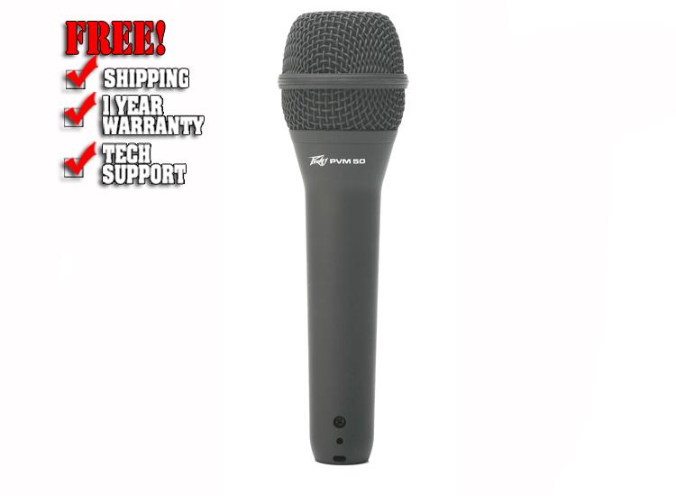 Peavey PVM 50 Super Cardioid Directional Microphone