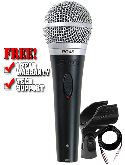 Shure PG48QTR Microphone