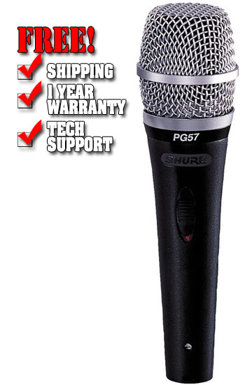 Shure PG57 Microphone