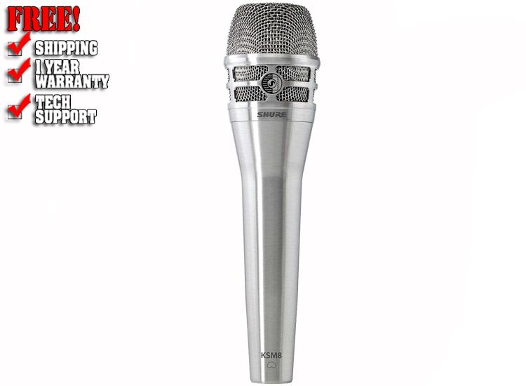 Shure KSM8/N Dynamic Handheld Vocal Mic - Nickel