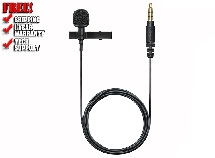 Shure Motiv MVL Condenser Lavalier Microphone