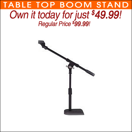 Table Top Boom Stand