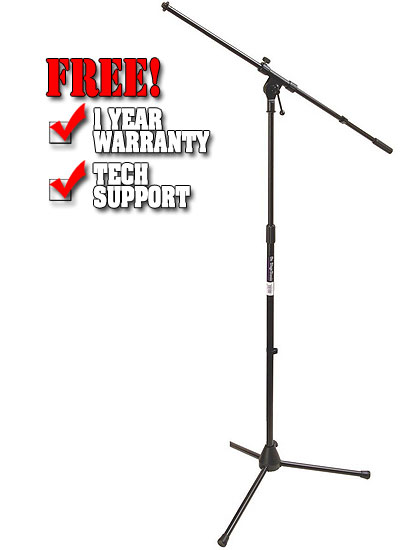 On-Stage MS7701B Microphone Stand
