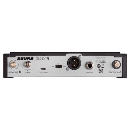 Shure GLX-D14/85 Digital Wireless WL185 Lavalier Microphone System, Band Z2 (2.4 GHz)