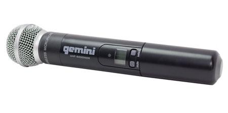 Gemini UHF-6100M UHF Handheld Wireless Mic System