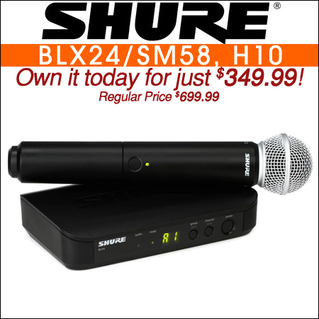 Shure BLX24/SM58