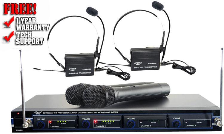 Pyle Pro PDWM4300