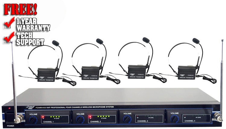 Pyle Pro PDWM-4400