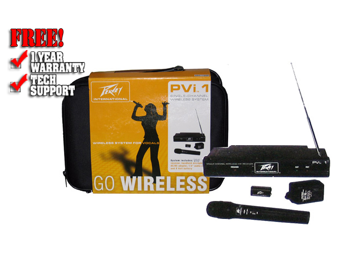 PVi Handset wireless system