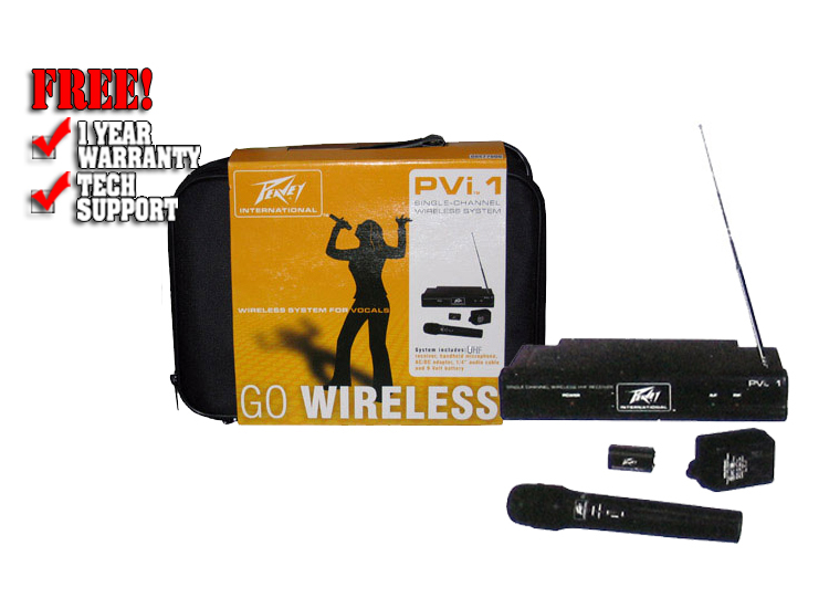 PVi UHF Handset wireless system