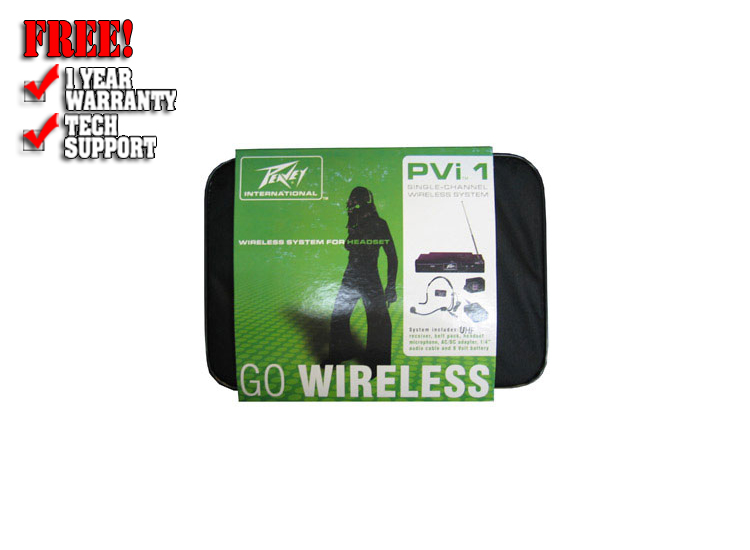 PVi UHF Headset wireless system