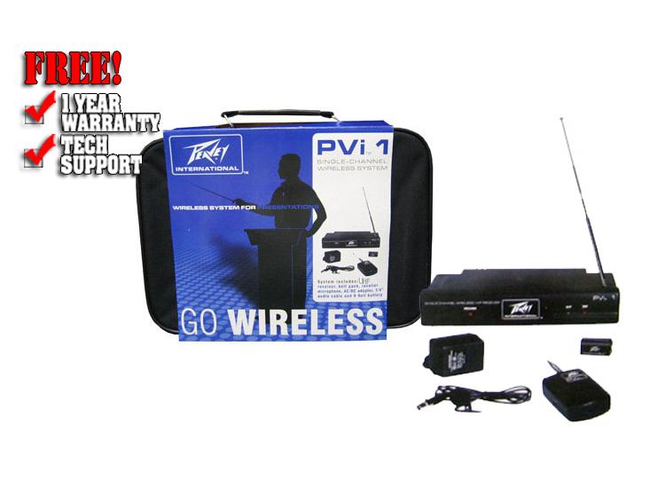 PVi UHF Lavalier system