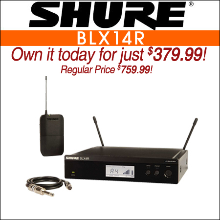 Shure BLX14R Wireless Instrument System