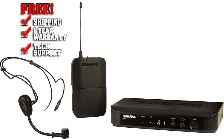 Shure BLX14/PG30 Headset