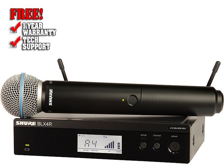 Shure BLX24R/B58 Handheld