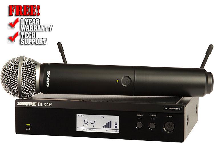 Shure BLX24R/SM58 Handheld