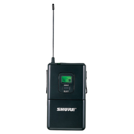 Shure SLX14/85 UHF Unidirectional Lavalier Wireless System, Band J3 (572 - 596 MHz)
