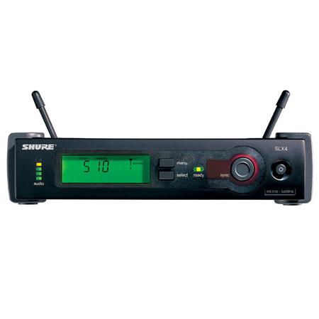 Shure SLX14/93 UHF Omnidirectional Lavalier Wireless System, Band J3 (572 - 596 MHz)