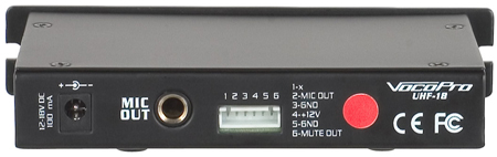 VocoPro UHF-18 Diamond