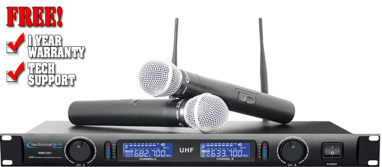 Technical Pro WM-1201